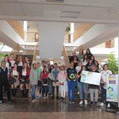 Foto de los representantes de todos los centros participantes