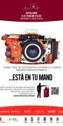 cartel A-3 cámara granate BAJA