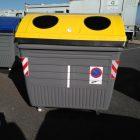 Contenedor envases de plástico, latas y brik