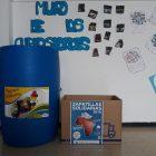 Caja en centro educativo