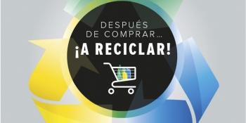 Después de comprar… ¡a reciclar!
